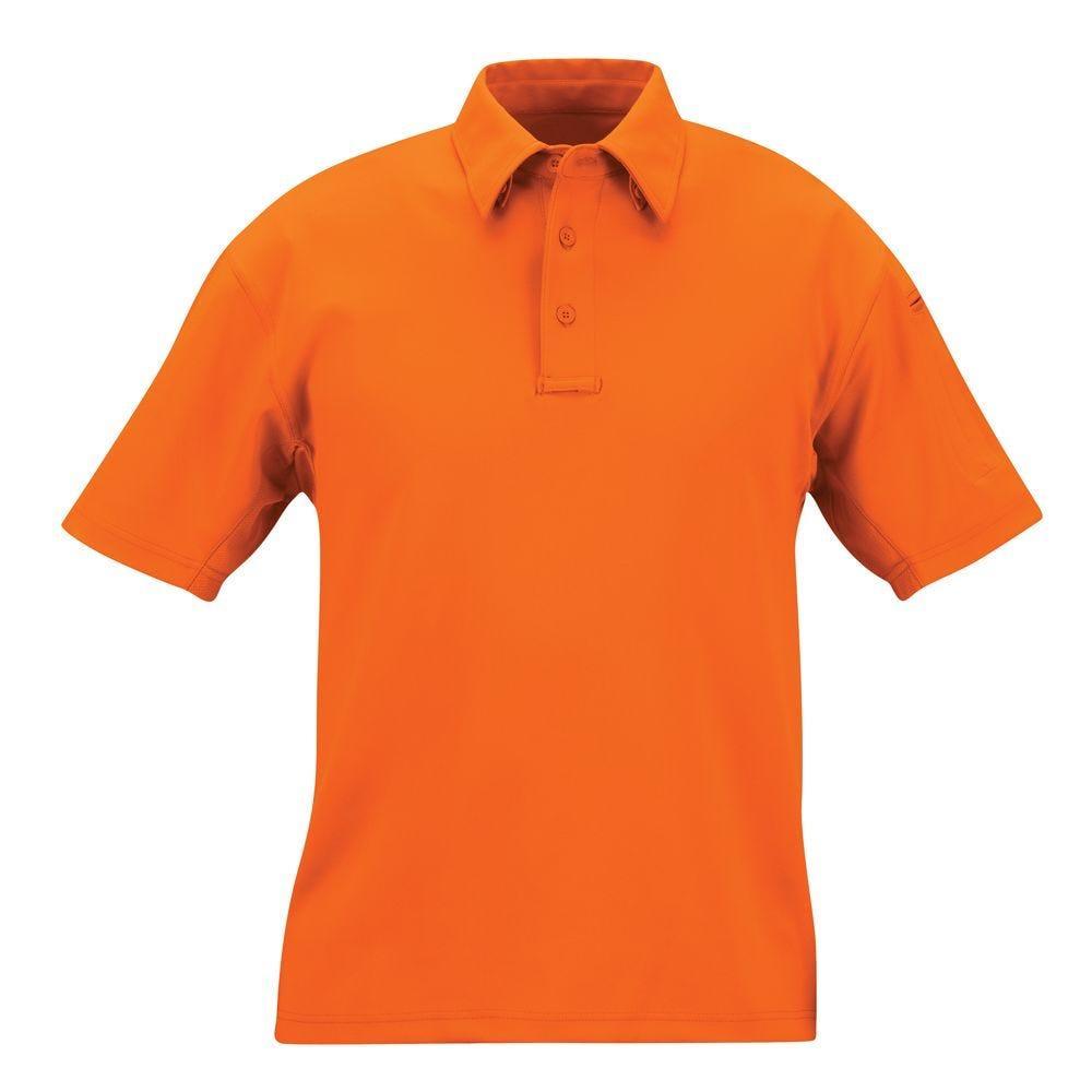 Propper I.C.E.® Men's Performance Polo - Short Sleeve (Hi-Viz Orange Only)