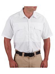Propper® Men's Short Sleeve RevTac Shirt - Poplin White