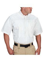 Propper® Men's Short Sleeve Tactical Shirt – Poplin White
