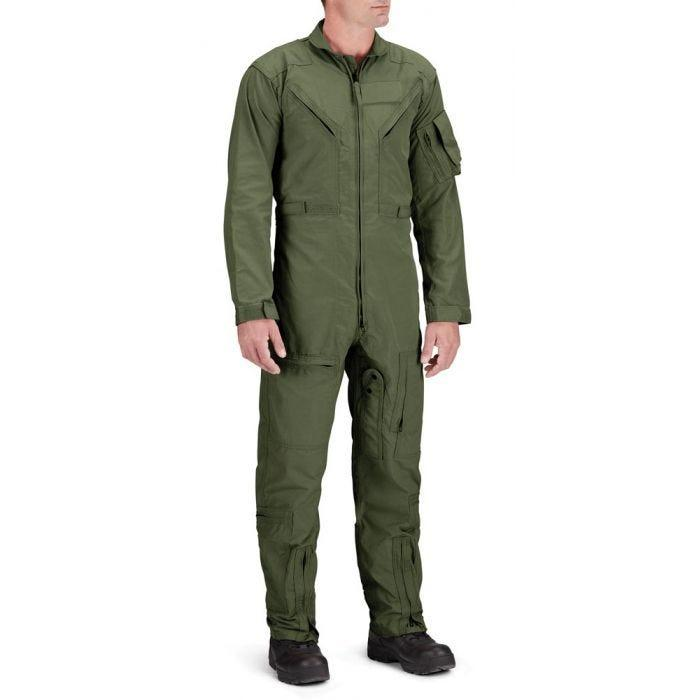 Green Nomex Flight Suit