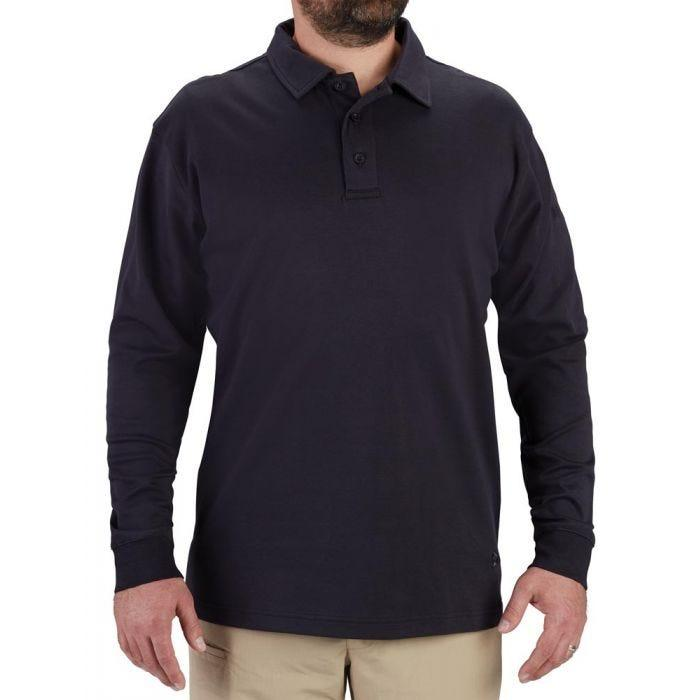 Long Sleeve Uniform Cotton Polo