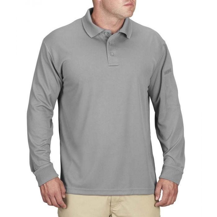 Men's Long Sleeve Uniform Polo