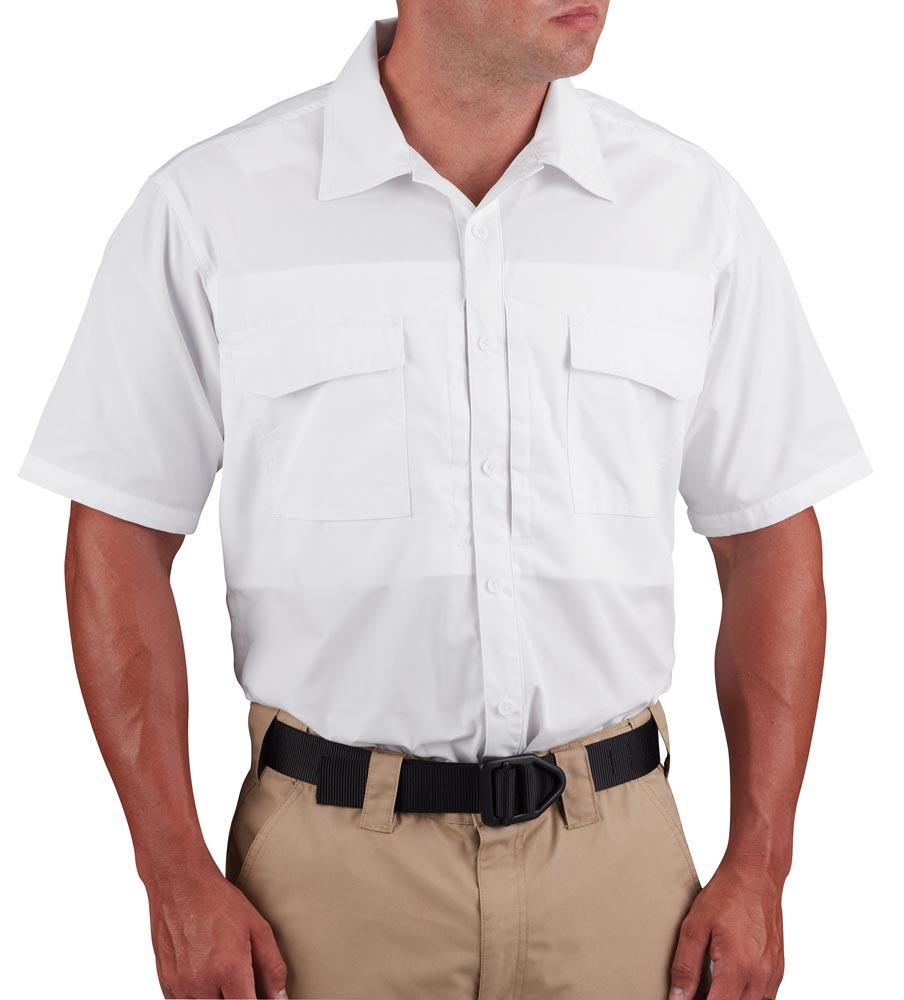 Propper Short Sleeve RevTac Shirt - Poplin White-