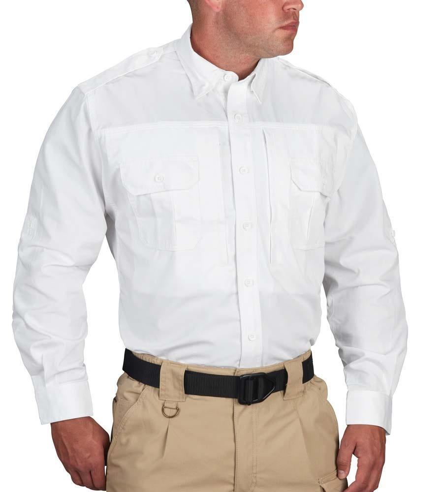 Propper Long Sleeve Tactical Shirt – Poplin White-Propper
