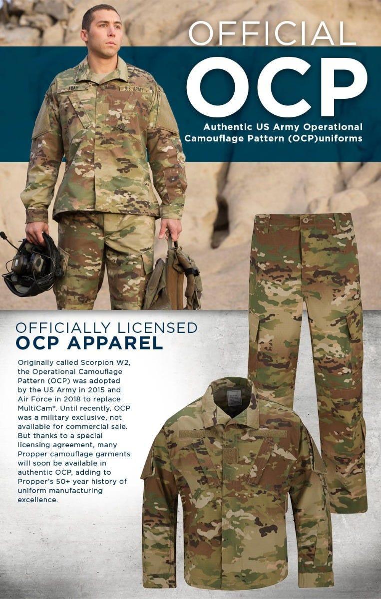 propper ocp apparel