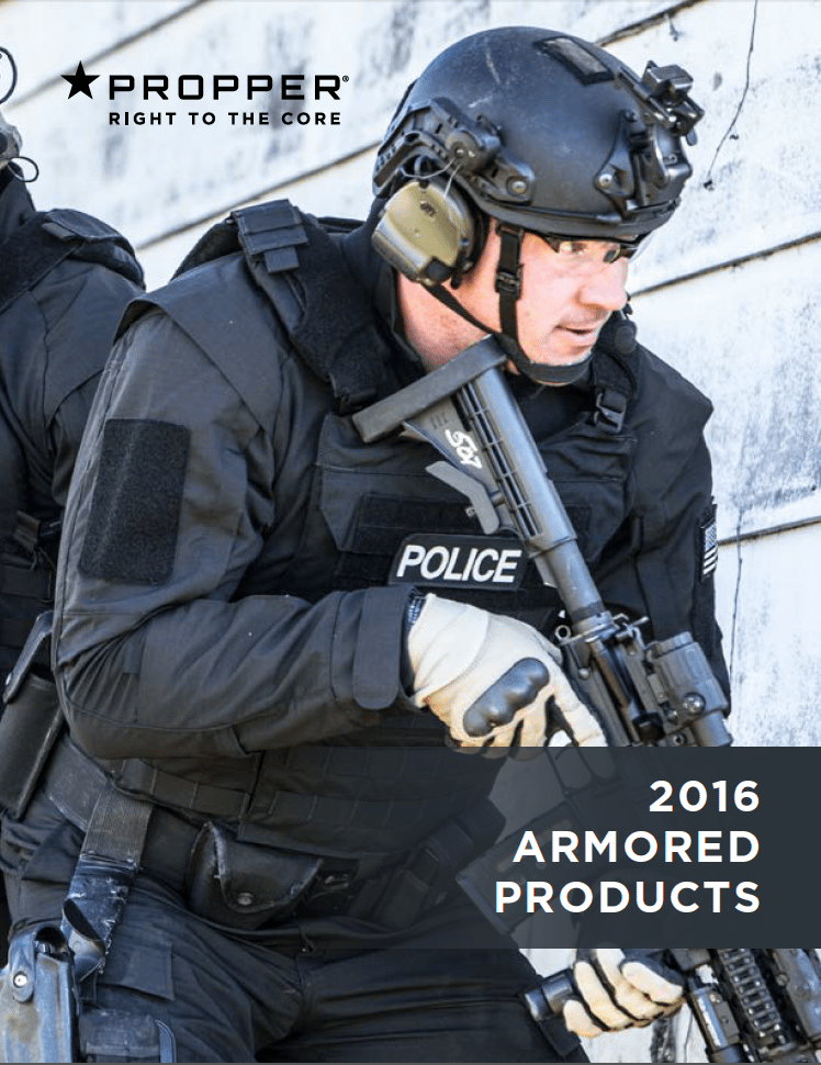 2016 Armored Products Catalog